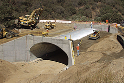 concrete tunnel construction, general industrial-General construction